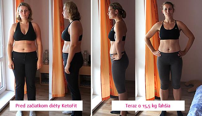 Pred a Po - Eva hubne s Ketofit diétou