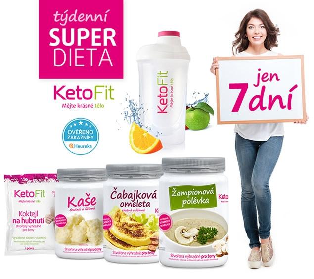 KetoFit diéta - balíček na jeden týždeň